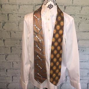 Neiman Marcus lot of two, 100% silk ties Italy